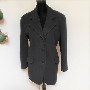 Neiman Marcus  Wool Cashmere Blend coat
